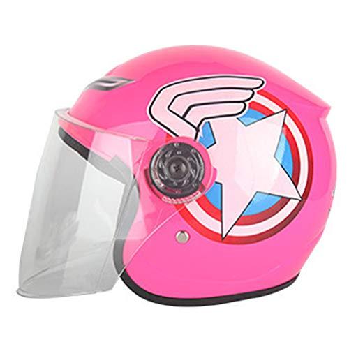 Generic Casco aperto per moto da motocross per bambini. Caschi di sicurezza per moto