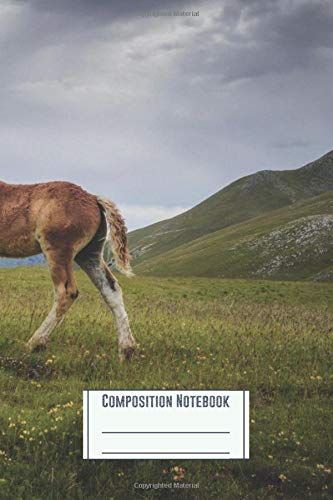 Composition Notebook: The Colt Workbook for Girls Kids Teens Students for Back to School