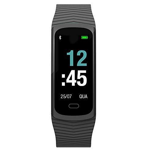 Relógio Mormaii, Pulseira de Silicone, Unissex, Preto