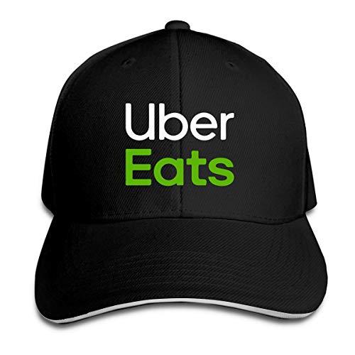 男女兼用 Uber Eats 速乾 帽子 調整可能 春夏 軽薄 アウトドア 日よけ野球帽 One Size