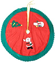 Christmas Tree Skirt Christmas Tree Skirt, Christmas Apron, 90CM Christmas Supplies Old Man Tree Skirt Christmas Tree Skir...