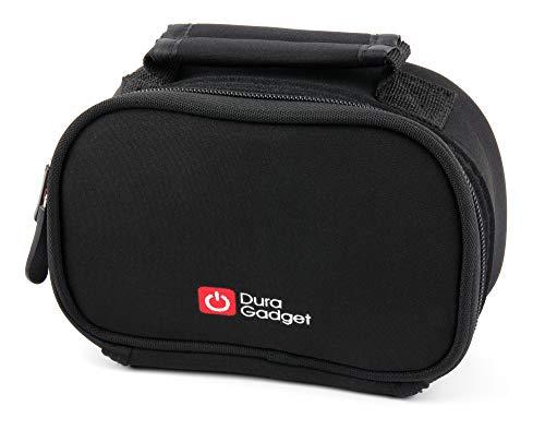 DURAGADGET Black Neoprene Lightweight Zip-Locked Case - Compatible with The HDCool HCN5000 4K Action Camera