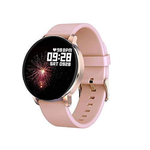 YAALO Smartwatch, bluetooth, IP67, waterdicht, bloeddrukmeting, slaapmonitor, fitness tracker, stappenteller, sporthorloge
