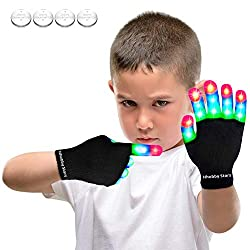 Boy Rave Gloves Stocking Stuffer