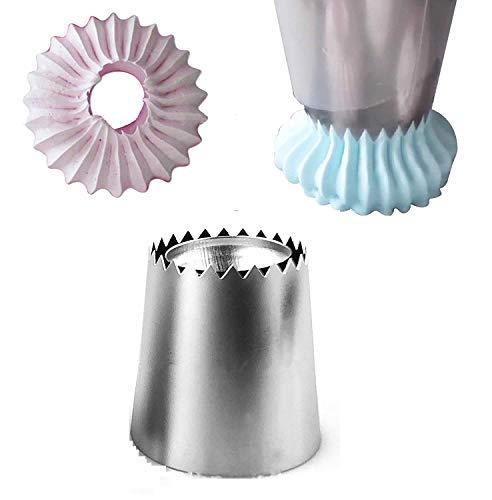 Beccuccio in metallo per sac a poche - saccapoche - decorazione dolci - pasticcini - torte - meringhe - salse - creme - crema - dosatore - decorativo - decorazione - Accessori per casa e cucina