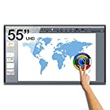 """Image of Android Ebeam 55"""" UHD 4K interactive touch screen, Multitouch supporting up to 20 simultaneous contact points, eBeam ScrapBook interactive software included, Samba function for file sharing"""