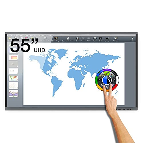 Interaktiver Android eBeam UHD-Touchscreen - 55