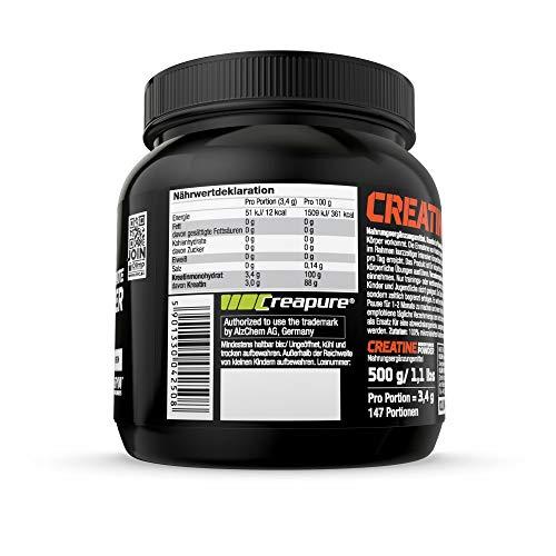 Olimp Creapure Monohydrat Powder, 1er Pack (1 x 500 g) - 2