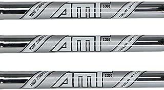 True Temper AMT Tour White 6-PW Steel Iron Shafts .355 Taper Tip - Set of 5 Shafts (Choose Flex)