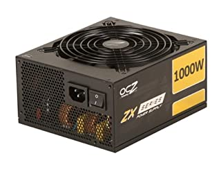 PC Power & Cooling ZX Series 1000 Watt (1000W) 80+ Gold Fully-Modular Active PFC Performance Grade ATX PC Power Supply 5 Year Warranty OCZ-ZX1000W (B004P1IWZU)   Amazon price tracker / tracking, Amazon price history charts, Amazon price watches, Amazon price drop alerts