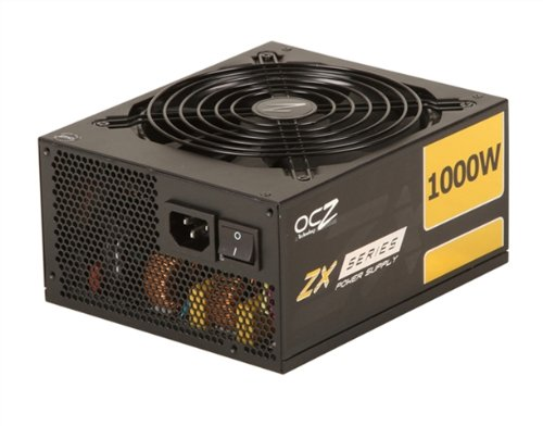 PC Power & Cooling ZX Series 1000 Watt (1000W) 80+ Gold Fully-Modular Active PFC Performance Grade ATX PC Power Supply 5 Year Warranty OCZ-ZX1000W