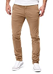 The sizes are perfect – the perfect chino for all occasions. Order your soon-to-be favourite chinos and see for yourself. Their high level of comfort and good quality make these chinos super comfortable. Due to the high cotton content, the fabric is ...