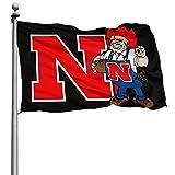 Zhengyu Flag of Nebraska Flag for Vivid Color 4x6 Ft Home Decoration, Garden Decoration, Outdoor Decoration