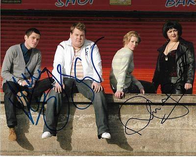 James Corden & Mathew Horne Gavin & Stacey - autógrafo firmado a mano