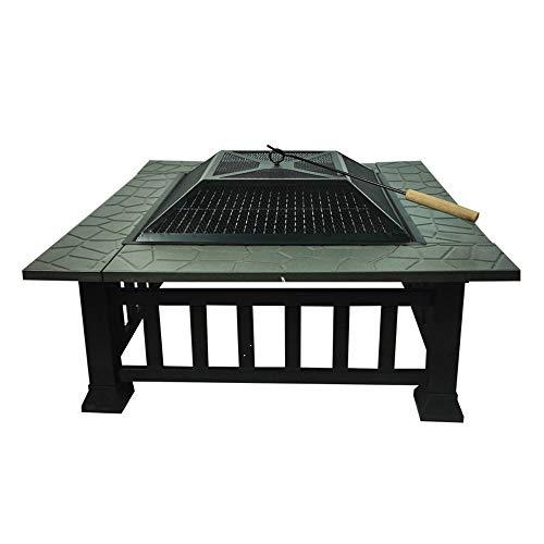 Brasero al aire libre, brasero portátil interior al aire libre, brasero de mesa, calentador de patio para jardín, es un gran ayudante para barbacoa de picnic en la terraza del jardín al aire libre