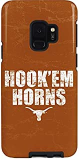 Skinit Pro Phone Case for Galaxy S9 - Officially Licensed University of Texas at Austin Texas Longhorns Hook Em Design