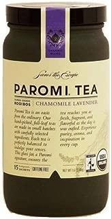 Paromi chamomile lavender super grade rooibos tea, caffeine free, 15-sachets by PAROMI TEA