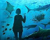 Kpoiuy Rompecabezas De Madera NiñA Peces De Acuario Mundo Submarino Arte 1000 Piezas Rompecabezas Juegos De Rompecabezas para NiñOs DecoracióN NavideñA 3D