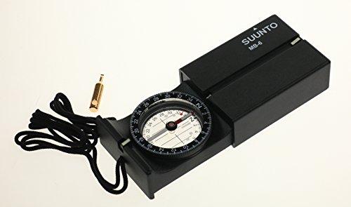 SUUNTO Unisex Kompass Mb-6 Nh Messer, schwarz,Einheitsgröße EU