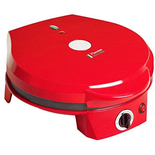 Bestron APZ300 Pizzabäcker, 1200 W, rot