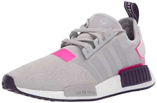 adidas Originals Damen NMD_R1, Grau/Grau/Schock-Pink, 40 EU