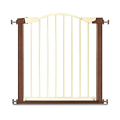 Jlxl veiligheidspoort hek hond veiligheidspoort Bar zwaartekracht Inductie automatische sluiting leuning huisdier paal isolatie deur gratis ponsen 75-84cm