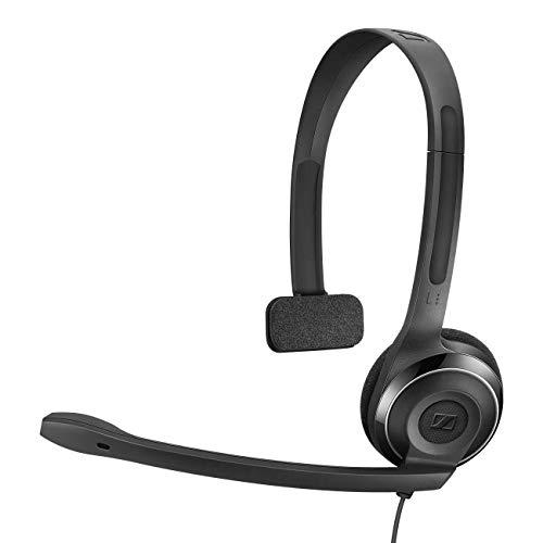 Sennheiser PC 7 USB - Micro-auriculares supraurales de tipo diadema mono con conexión USB
