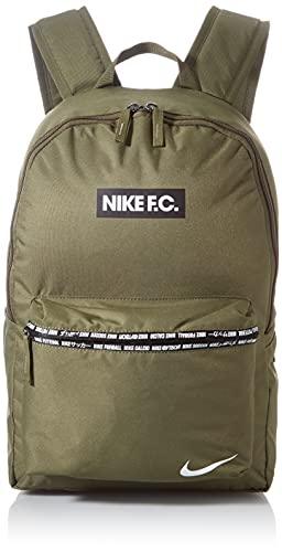 Nike CU8164-222 NK FC BKPK - SP21 Sports backpack womens medium olive/black/(white) MISC