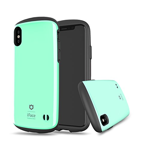 iFace [Sensation] Lightweight Hard Case [Military Drop Test Certified] [360-Degree Protection] for Apple iPhone X, XS - Mint Green