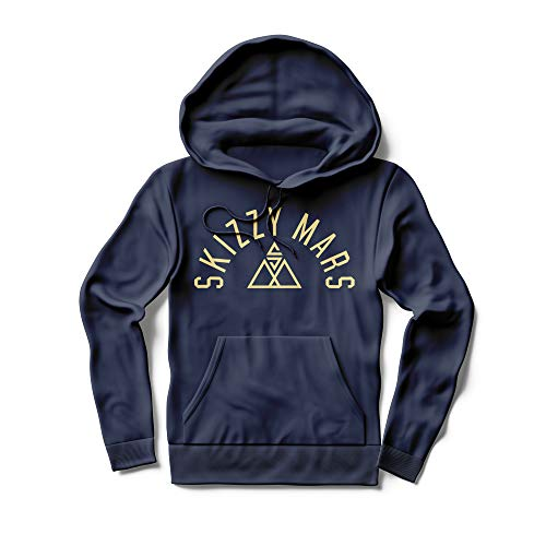 Skizzy Mars Merch Skizzy Mars Triangle T-Shirt,Long Sleeve - Crewneck Sweatshirt - Hoodie Sweatshirt - Merch Merchadise Clothes Apparel for Kids Men Women Navi