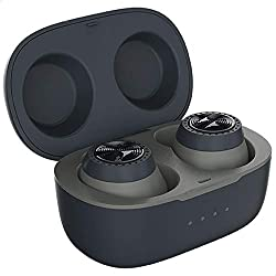 Up to 10 hours playtime with charging case (3 hours per charge) IPX5 waterproof Lightweight & Secure fit Rich stereo sound Voice assistant compatible (works with Alexa, Siri and Google Assistant)