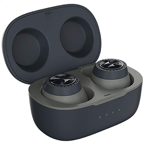 Motorola VerveBuds 200 - Auriculares Deportivos inalámbricos 2 en 1 - In Ear Sport Auriculares Bluetooth 5.0 - IP55 Waterproof y 10h - Compatible con Alexa, Siri y Google Assistant - Color Negro