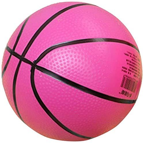 hsj LF- Toy Mini Bouncy Basketball Indoor/Outdoor Sport Ball Kinder-Spielzeug-Geschenk-Rosen-Rot Lernen