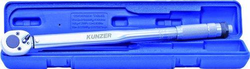 Kunzer 7DMS01 momentsleutel standaard in koffer, 1/2 inch