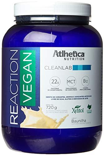 Reaction Vegan (720G) - Sabor Baunilha, Atlhetica Nutrition