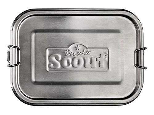 Scout Fiambrera de acero inoxidable, 17 cm