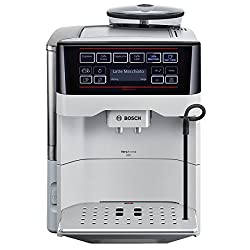Bosch TES60351DE Kaffeevollautomat VeroAroma 300 OneTouch Zubereitung (1500 W, 1,7 L, 15 bar, Cappuccinatore) silber