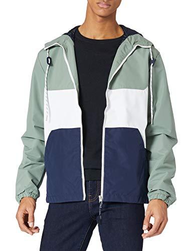 JACK & JONES JORLUKE Jacket LTN Giacchetto per Mezze Stagioni, Spruzzo di Mare, M Uomo