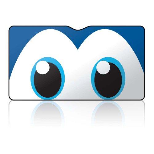 "Car Windshield Sunshade by mAuto 27.6"" x 51.2"" Happy Eyes & Reversible..."