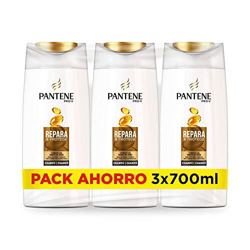 Pantene Pro-V Repara & Protege - Champú, 3 x 700 ml