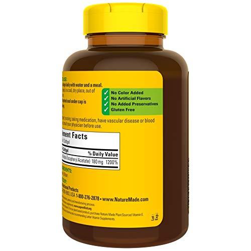 Nature Made Vitamin E 400 IU Softgels