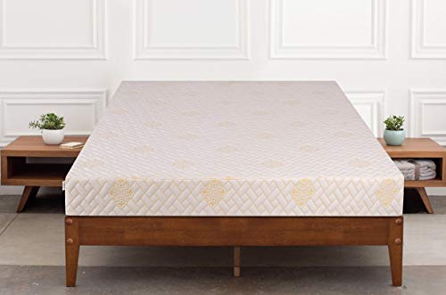 Springtek Dual Comfort Queen Bed High Density Foam Mattress (White, 78x60x6)