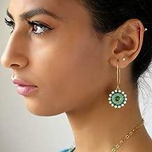 handmade swarovski earrings