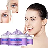 3 Bottles Smooth& Lift Extra Firming Cream, For Women Moisturizing Firm Neck Face Anti-wrinkle Cream, Aging Lift Brighten Skin Repair Cream, Reduce Fine Lines and Wrinkles