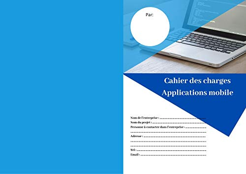 Couverture du livre Cahier des charges application mobile