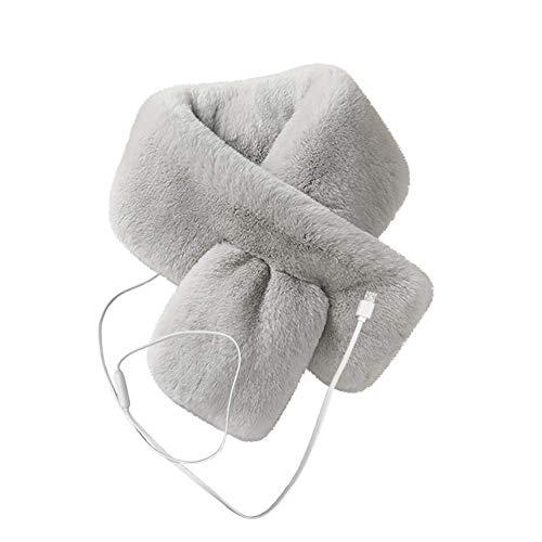Mantas eléctricas y calienta colchones Bufanda climatizada, 90 x 12 cm Calefacción eléctrica USB Cómodo cálido cálido Bufanda Show Soft Bufanda para Mujeres niñas