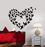 Tianpengyuanshuai Las calcomanías de Pared simbolizan la bandada de pájaros...