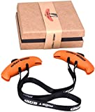 Sweetone - Manopole per esercizi di fitness, cinghie per trazioni e trazioni per macchinari, fasce di resistenza, bilanciere, trattori con sacchetto regalo e scatola regalo