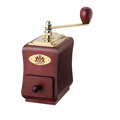 Zassenhaus 'Santiago' Mahogany Beech Wood Manual Coffee Mill