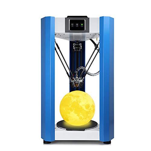 CNRGHS 3D-printer met touchscreen, 3D-printer, kunststof, magnetisch platform 3D-printer, sneloplossing-software, 3D-sproeier van zeer nauwkeurige legering